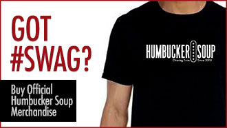 humbucker soup t-shirt