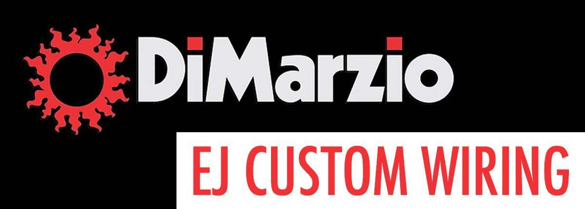 DiMarzio EJ Custom wiring