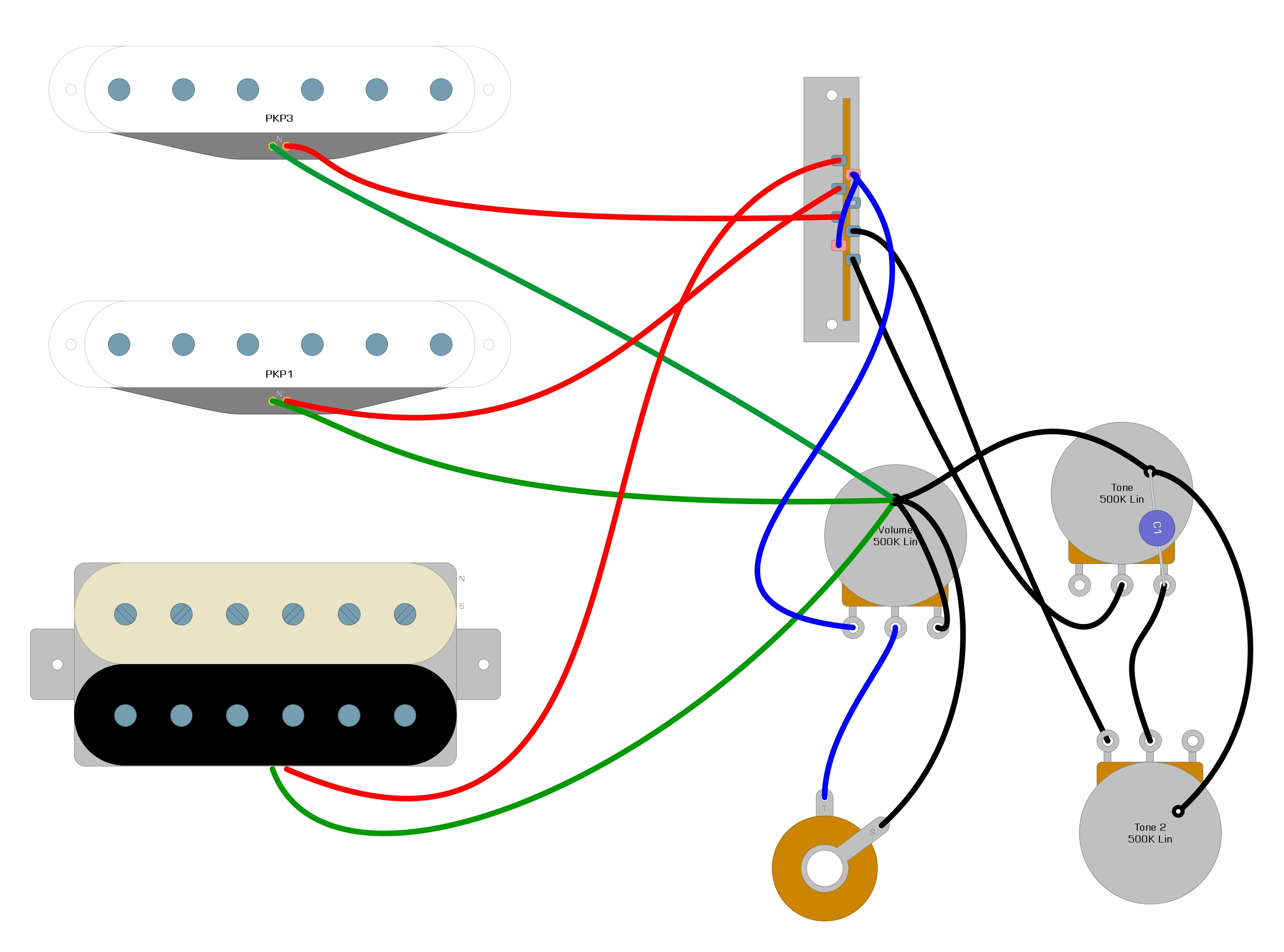 Dimarzio PAF 59 Wiring Diagram – Humbucker Soup | Guitar Wiring Diagrams Dimarzio |  | Humbucker Soup