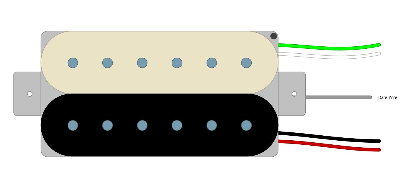 Dimarzio Fender 3 Way Switch Humbucker Wiring Diagram from humbuckersoup.com