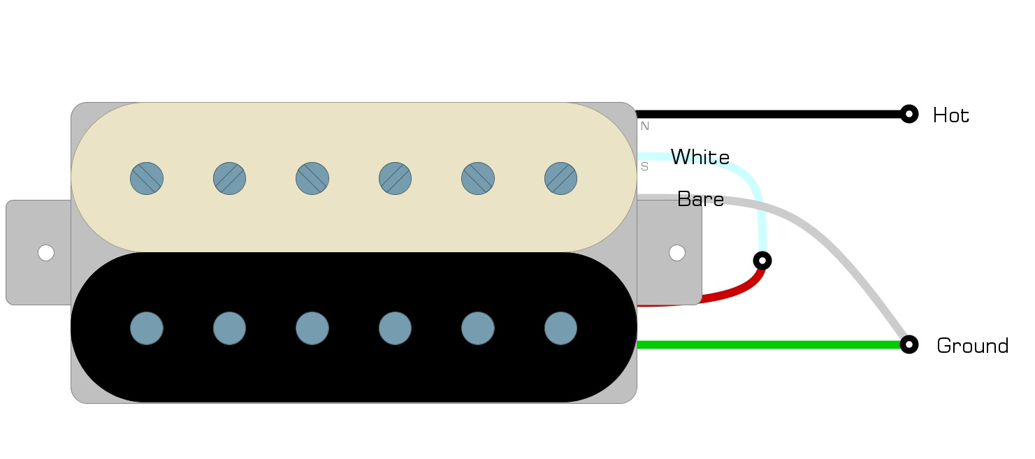 Les Paul Tribute Wiring Diagram from humbuckersoup.com