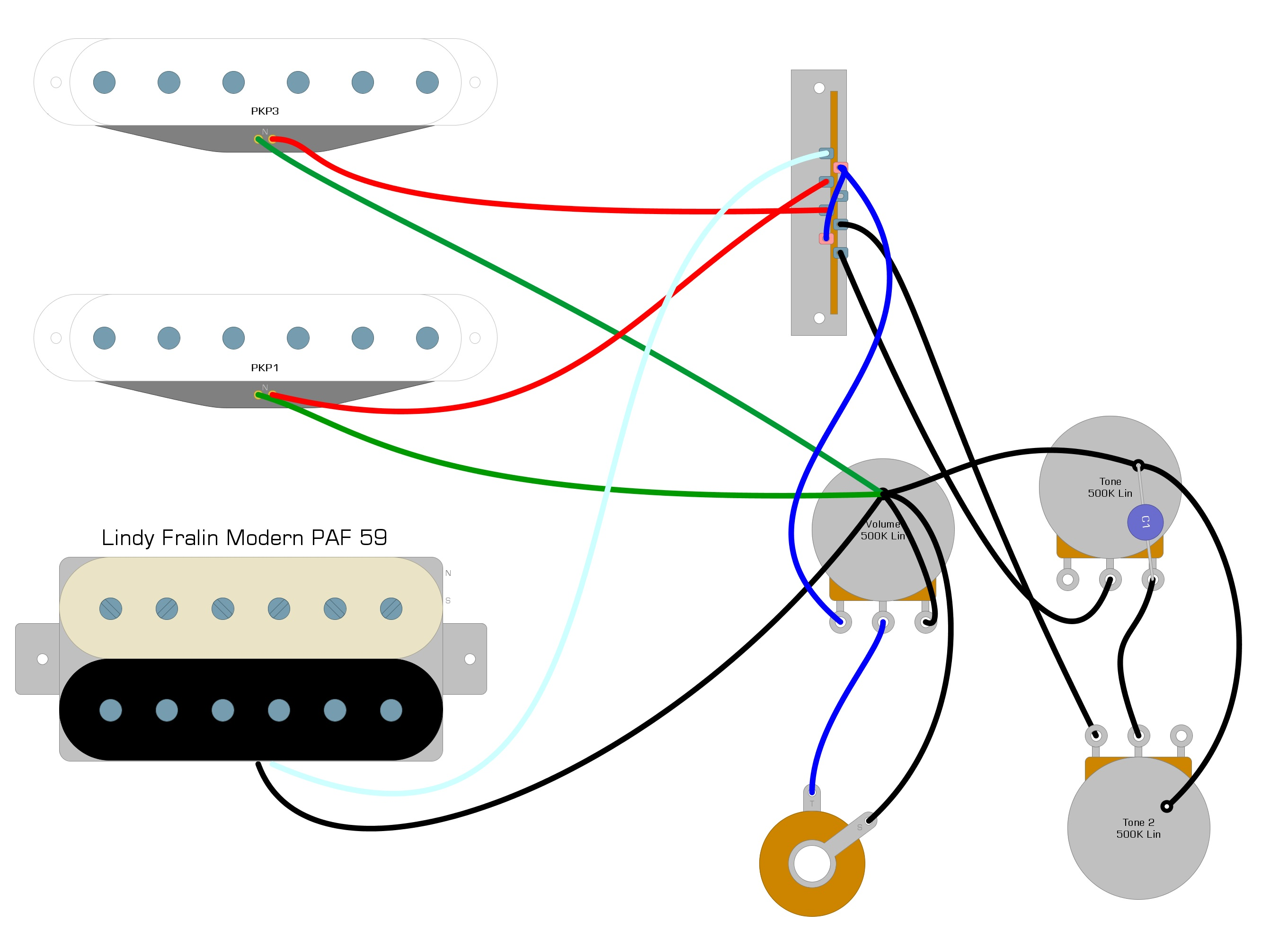 Bare Knuckle Pickups Wiring Diagram from humbuckersoup.com