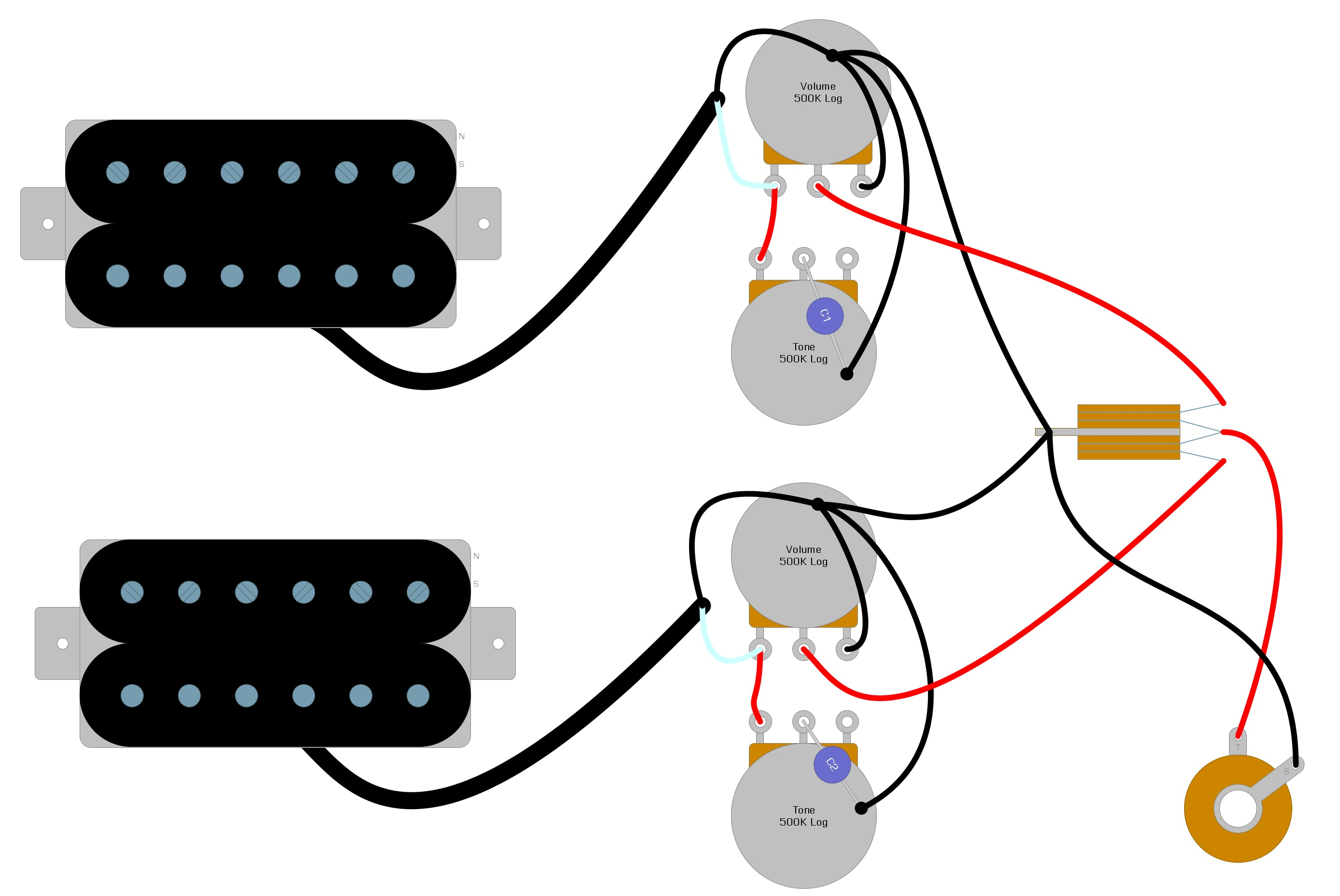 Troubleshooting Guitar Wiring Problems – Humbucker Soup | Guitar Electronics Wiring Diagrams |  | Humbucker Soup