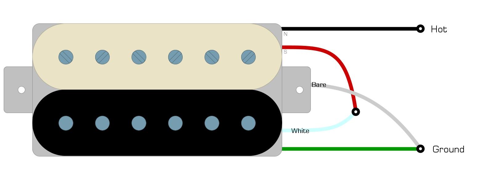 Railhammer Alnico Grande Wiring Diagram