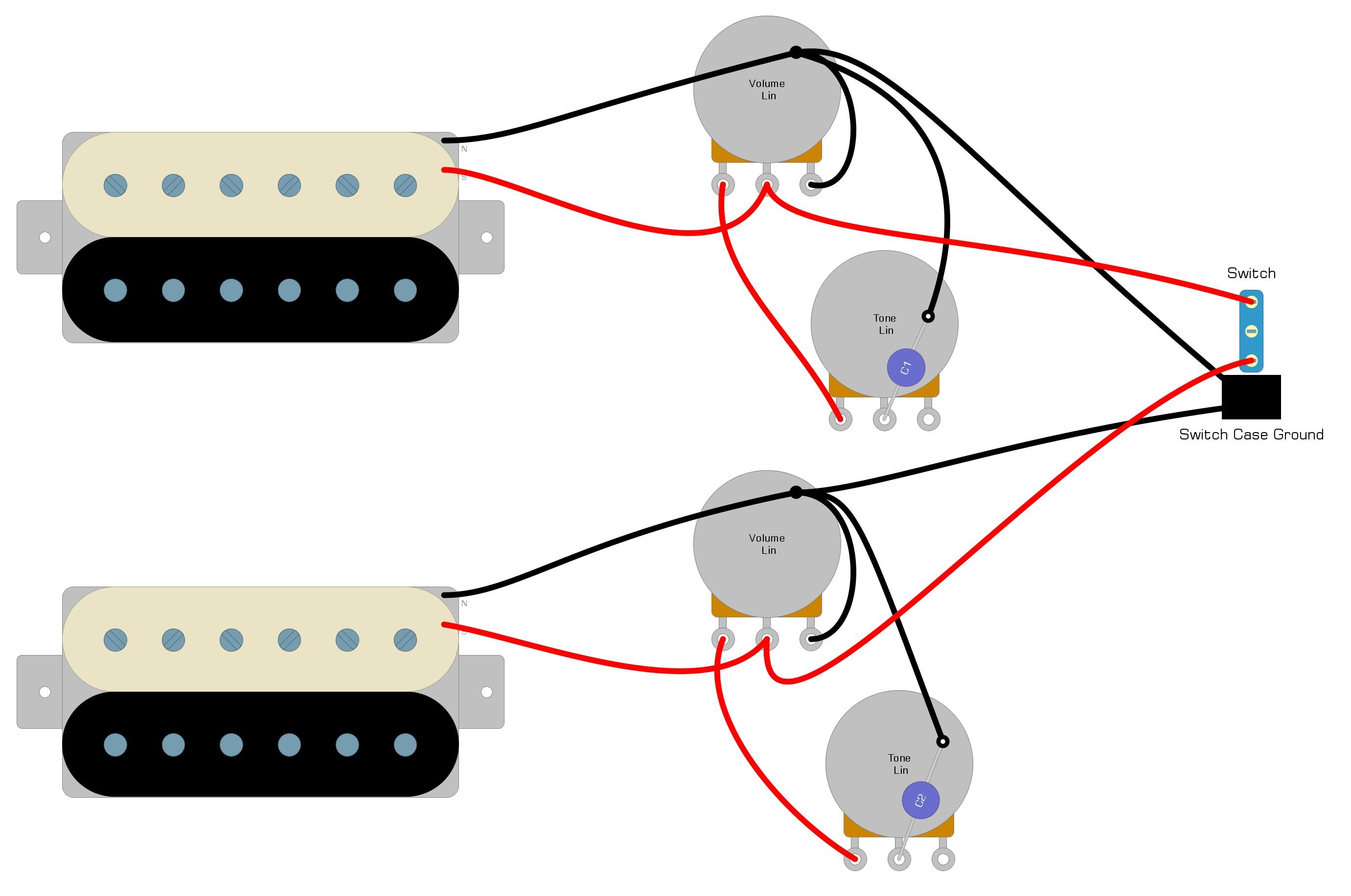 Semi Hollow Body Guitar Kit