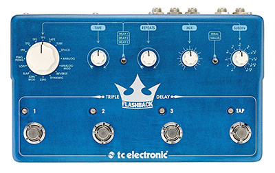 TC Electronic Flashback Triple Delay Guitar Effects