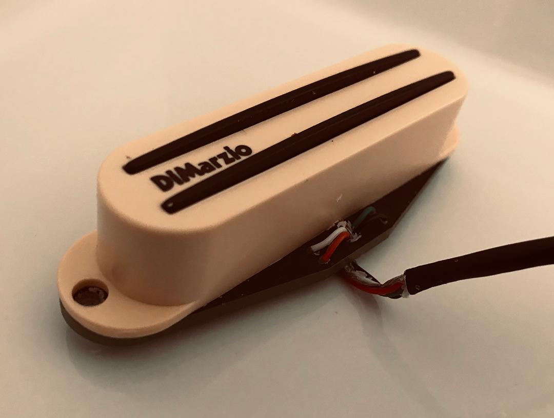 DiMarzio Fast Track 2 wiring