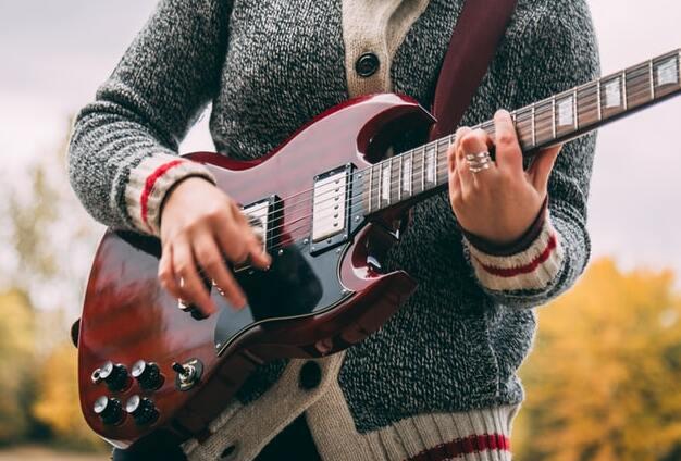 shielding a Gibson SG guitar