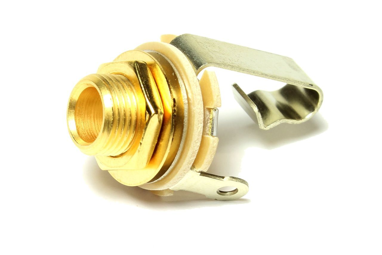 gold plated vs silver plated guitar jacks