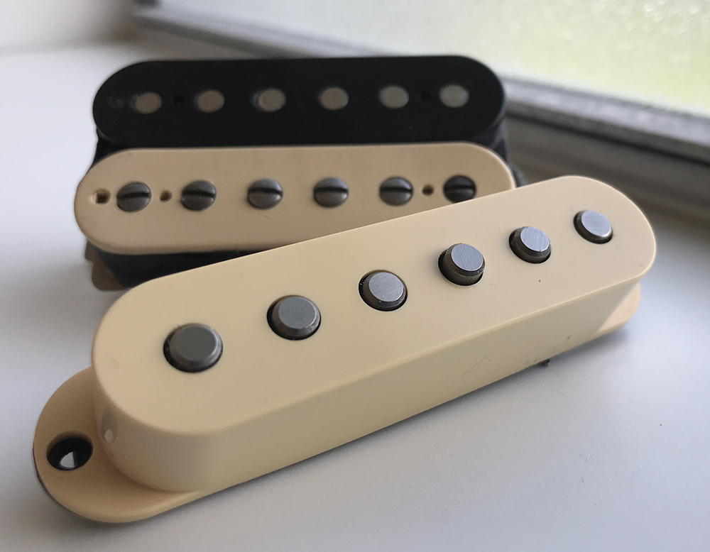 mixing humbuckers and single coil pickups