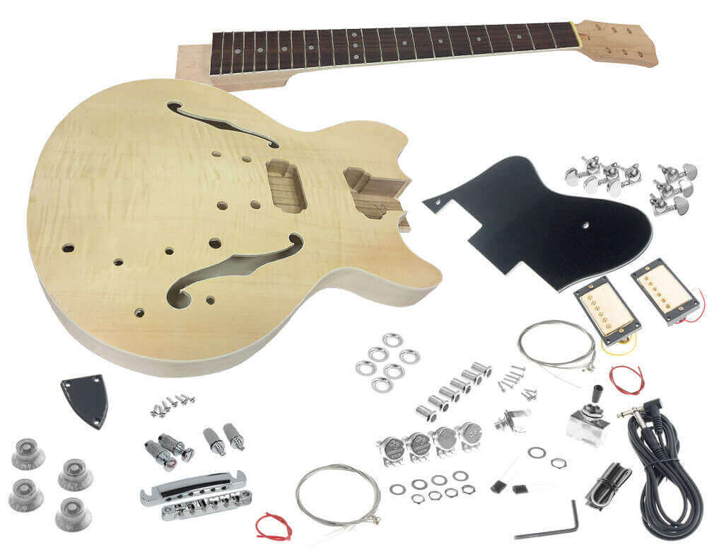 SOLO ESK-35 Wiring Diagram – Semi-Hollow Body Guitar Kit – Humbucker Soup | Hollow Body Bass Guitar Wiring Diagram |  | Humbucker Soup