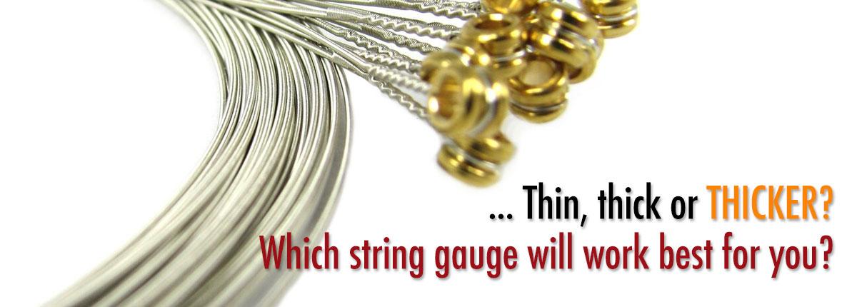 Guitar String Gauges
